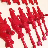 Red Toby Keys-Gary Baseman